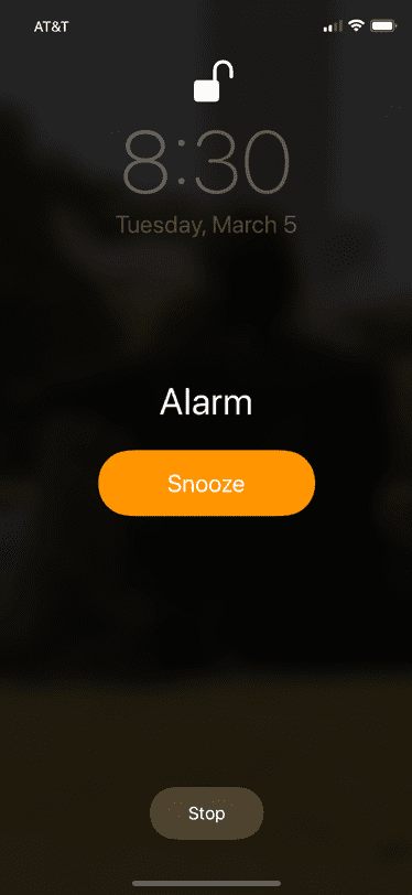 Design Lesson Iphone Alarm Clock